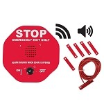 STI-6402WIR, Wireless Exit Stopper Multifunction Door Alarm for Double Doors